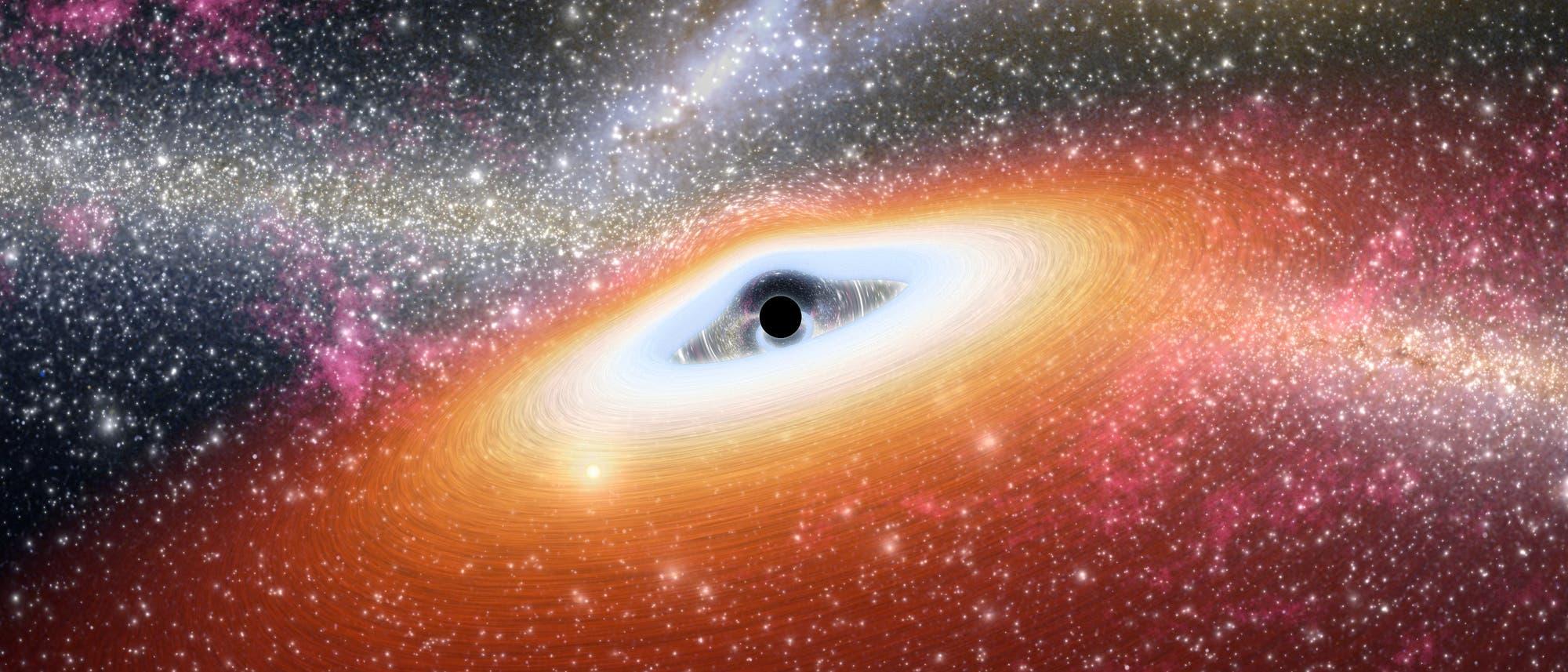 Junges Schwarzes Loch