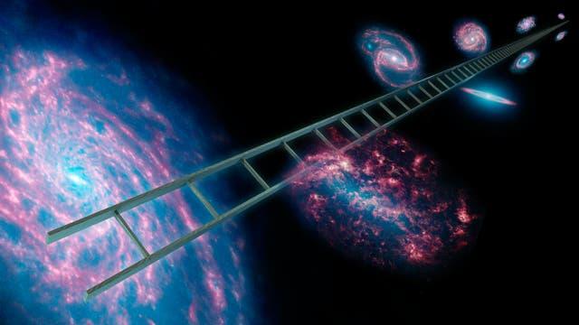 Kosmische Entfernungsleiter