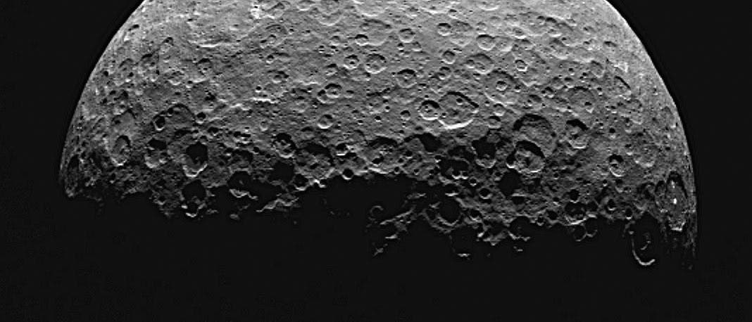 Zwergplanet Ceres am 14. April 2014