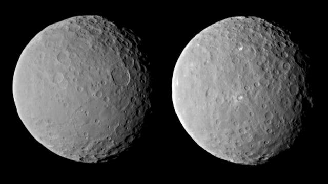 Zwergplanet Ceres am 19. Februar 2015 - I
