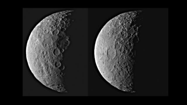 Zwergplanet Ceres am 25. Februar 2015 - I