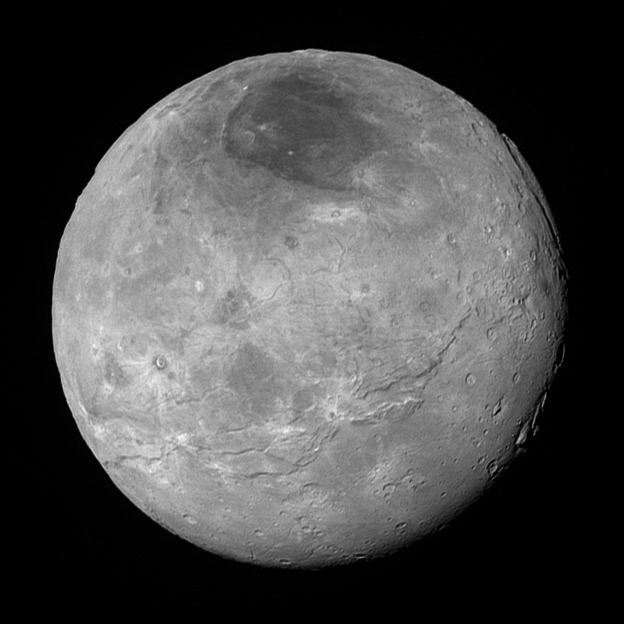 Der größte Plutomond Charon