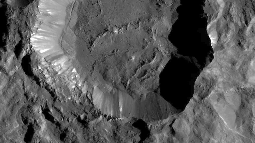 Krater Kupalo auf Ceres