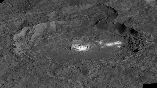 Ceres Krater Occator