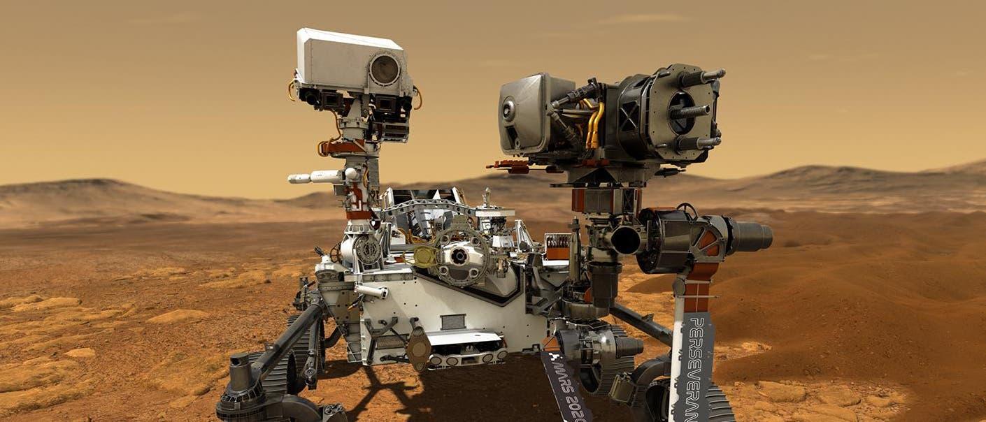 Der Mars-Roboter »Perseverance« (auf Deutsch: Beharrlichkeit) soll 2020 starten.