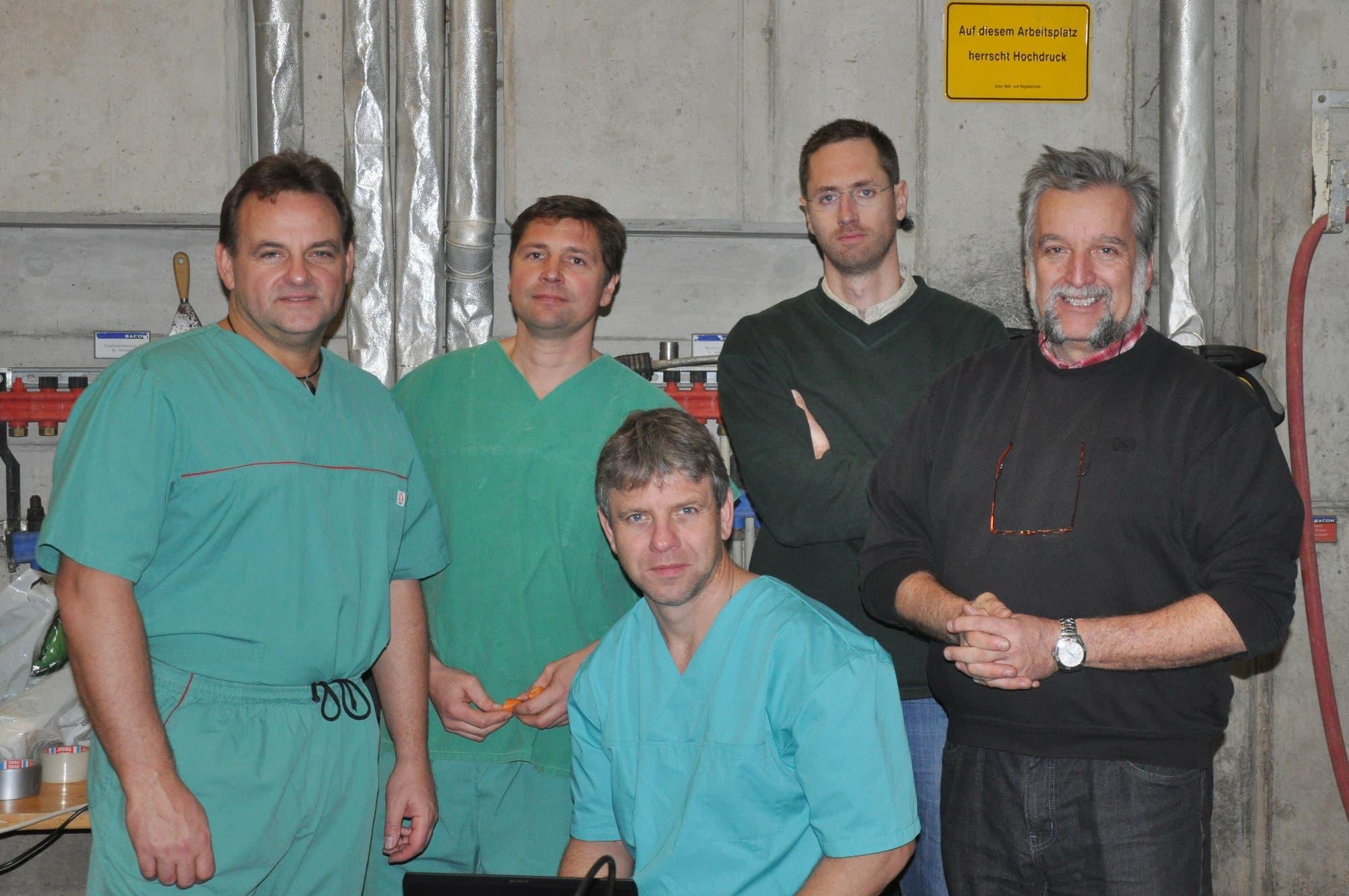Die IZW-Forscher und ihre Kollegen