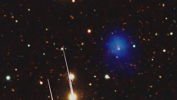 Entfernter Galaxienhaufen