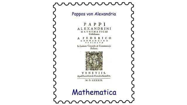 Pappos von Alexandria (um 320)