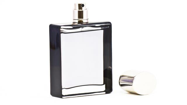 Geöffneter Parfümflakon