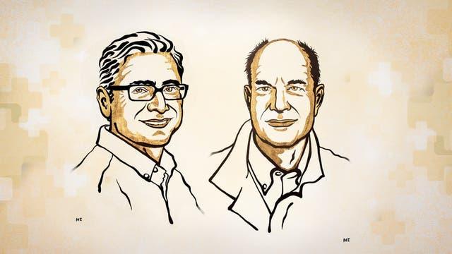 Ardem Patapoutian (links) und David Julius sind die Nobelpreisträger für Medizin 2021.