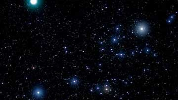 Komet Holmes im Perseus