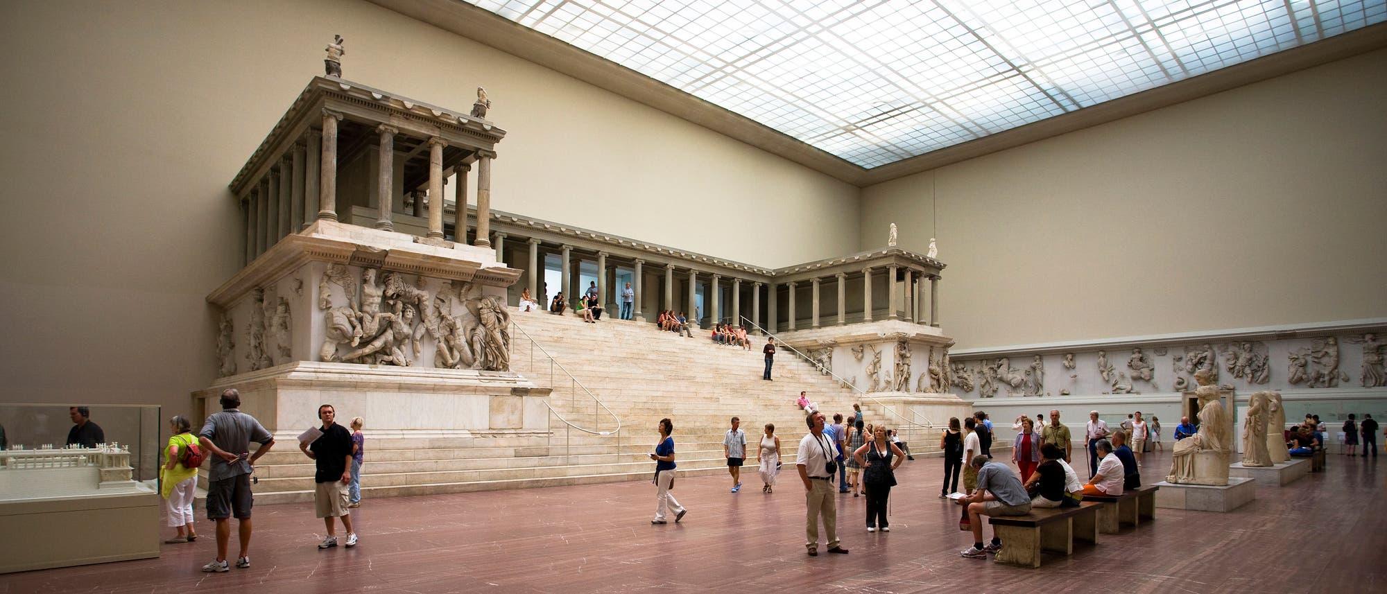 Der Pergamonaltar in Berlin