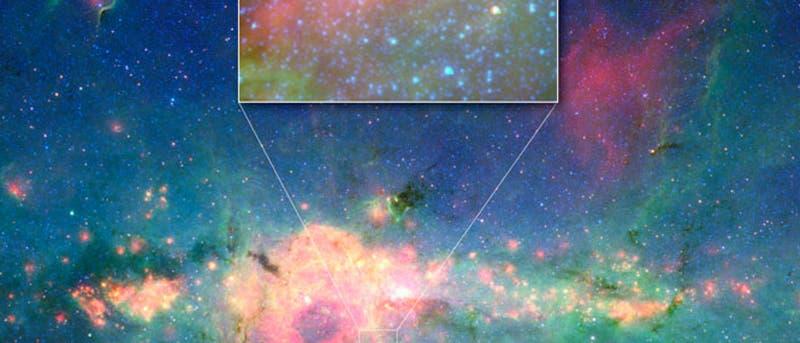 Einer der hellsten Sterne der Galaxis: WR 102ka
