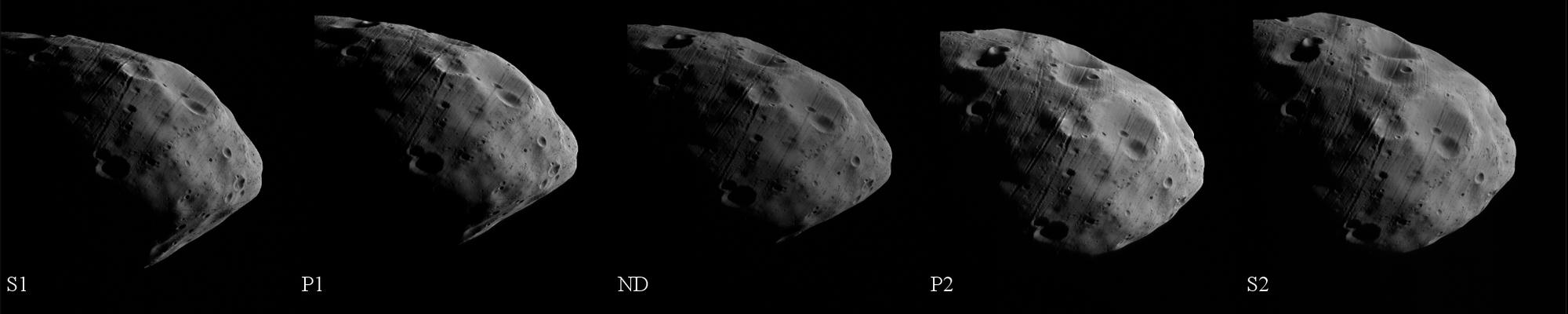Der Marsmond Phobos
