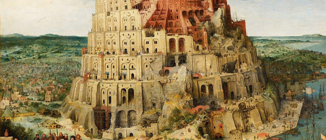 Gemälde von Pieter Bruegel dem Älteren: Der Turmbau zu Babel