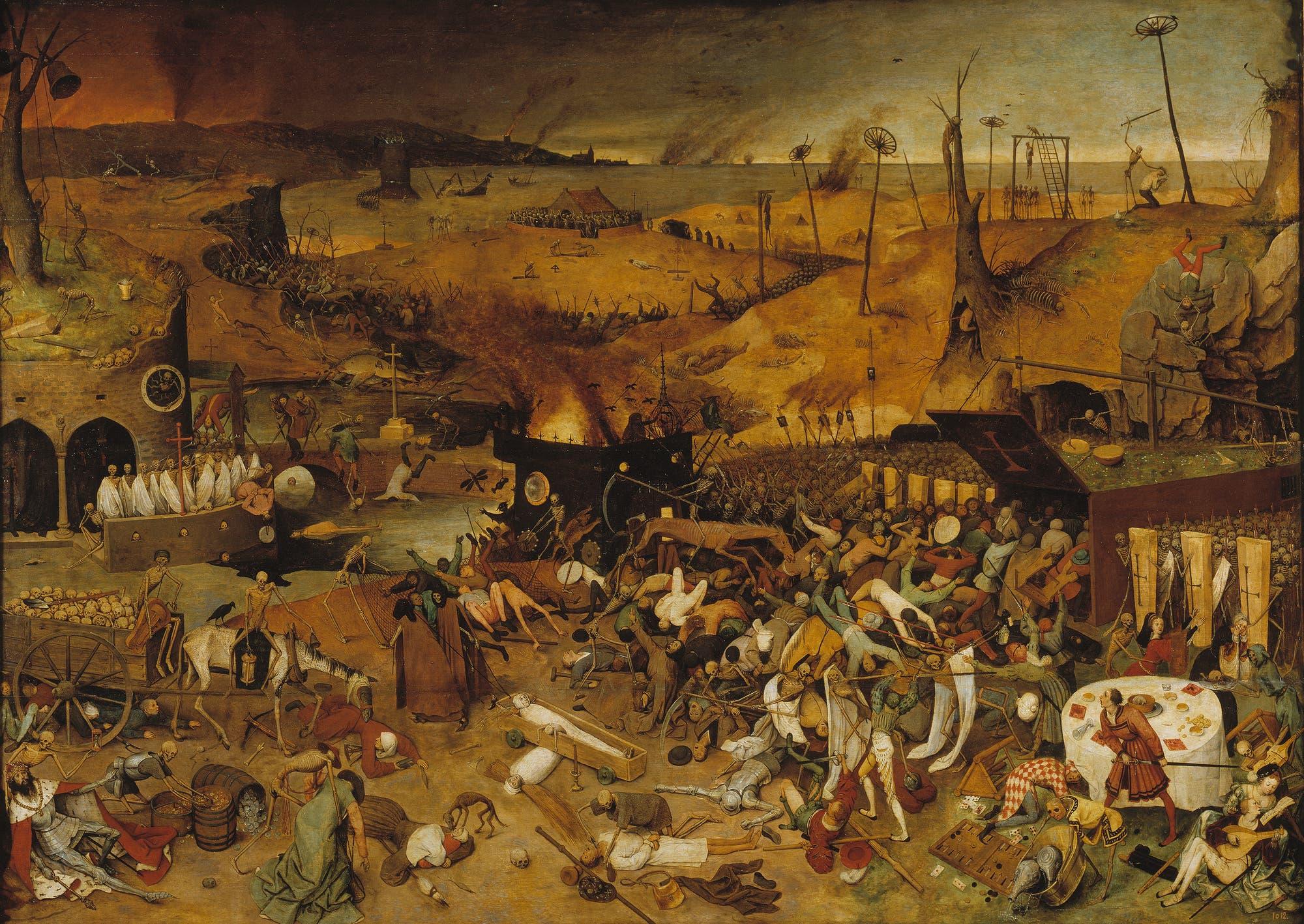 Gemälde von Pieter Bruegel dem Älteren: Der Triumph des Todes