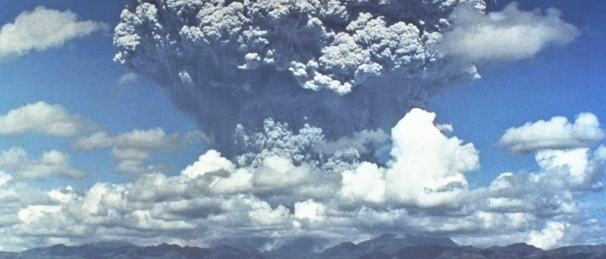 Ausbruch des Pinatubo 1991