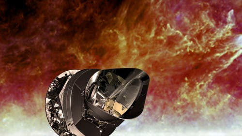 Forschungssatellit Planck