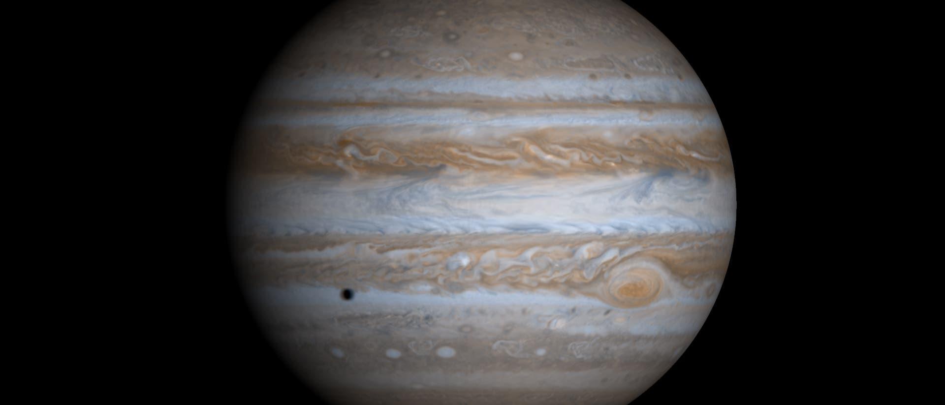 Jupiter: größter Planet des Sonnensystems