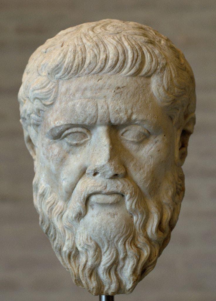 Römische Kopie von Platons Kopf