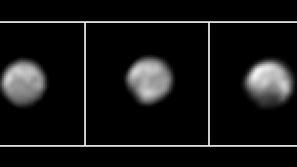 Pluto im Mai 2015