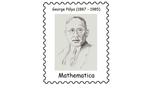 George Pólya (1887 – 1985)