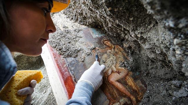 »Leda und der Schwan« in Pompeji entdeckt