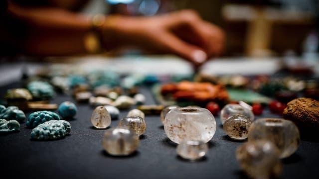 Dutzende Schmuckstücke fanden sich in Pompeji