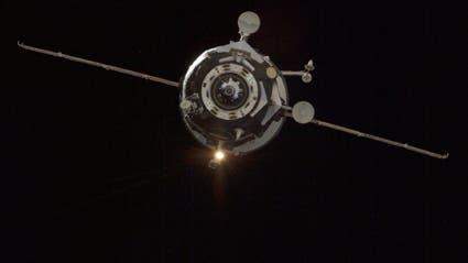 Russisches Progress-Raumschiff