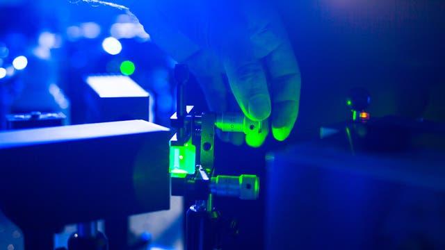 Laser im Labor