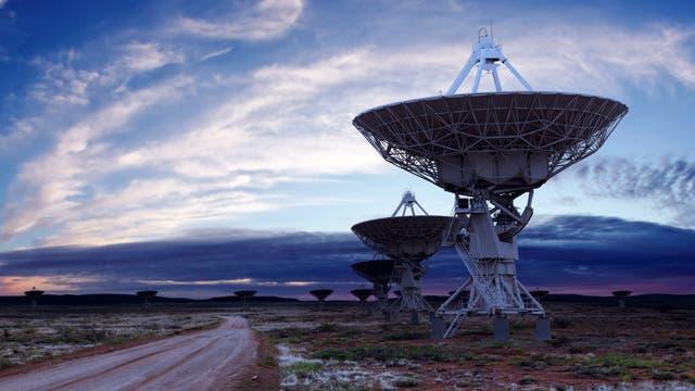 Das Very Large Array ist eine aus 27 Radioteleskopen bestehende Anlage im US-Bundesstaat New Mexico