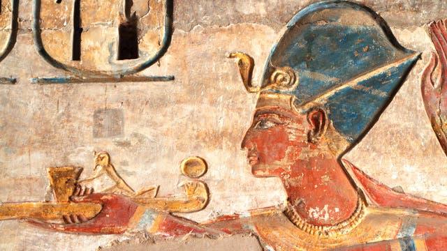 Ägyptischer Pharao (Symbolbild)