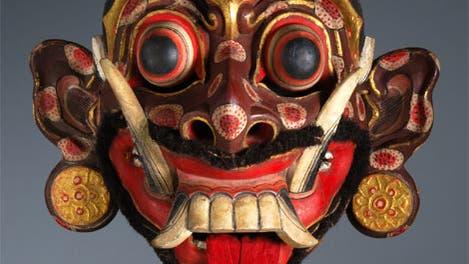 Rangda-Maske aus Bali