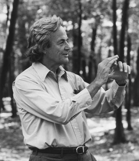 Richard Feynman im Jahr 1984