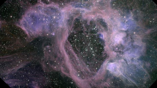 Supernovablase in Großer Magellanscher Wolke