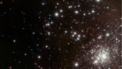 Der offene Sternhaufen R 136