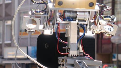 Roboter ACE am Karlsplatz in München