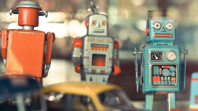 Spielzeug-Roboter