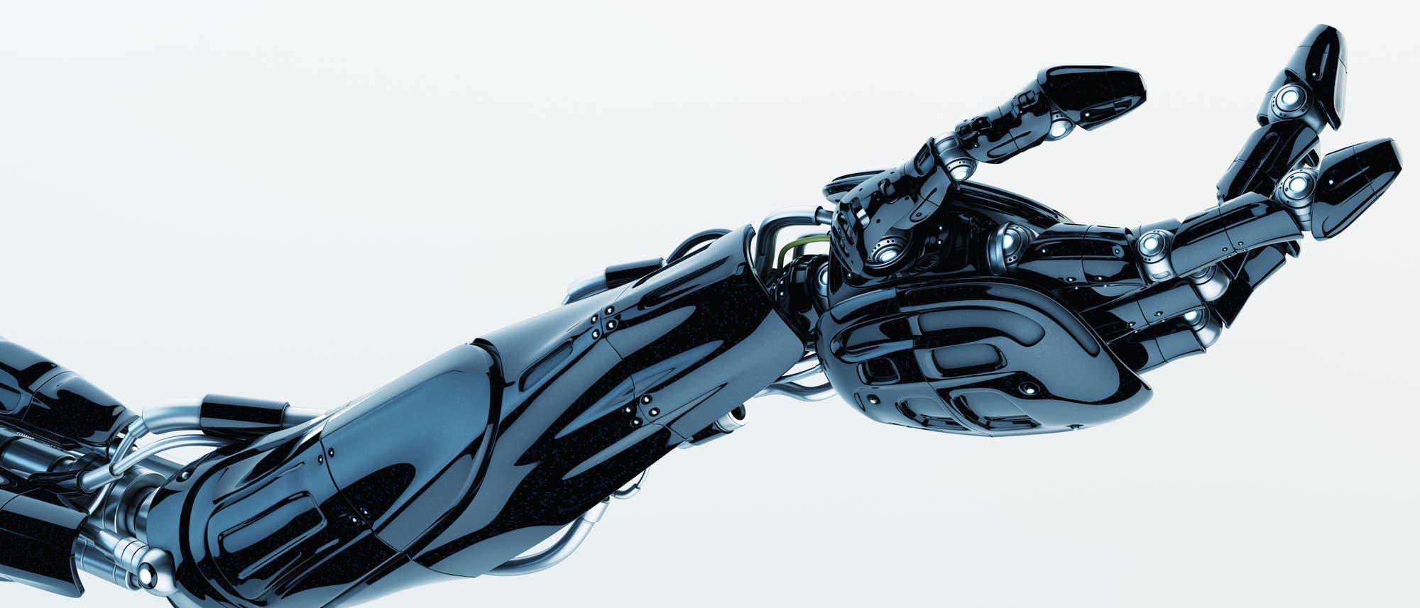 Roboterarm nach dem Vorbild der Natur