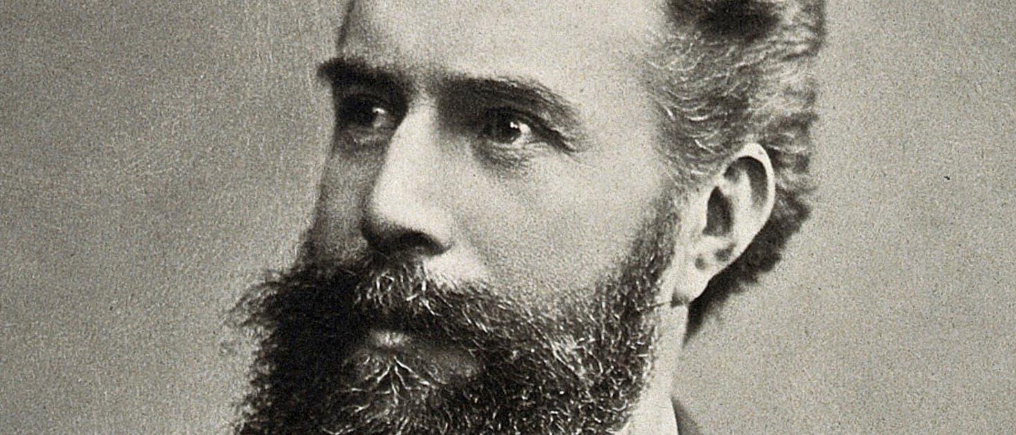 Porträtfoto von Wilhelm Conrad Röntgen