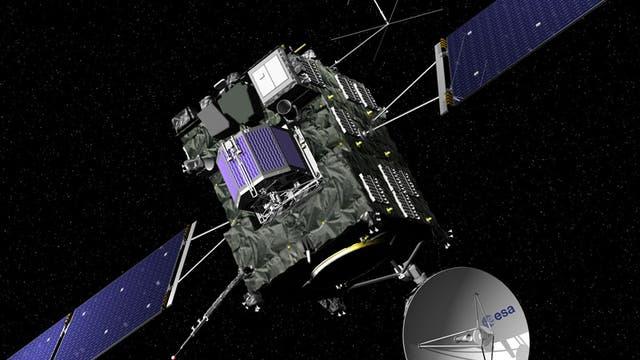 Europas Kometensonde Rosetta