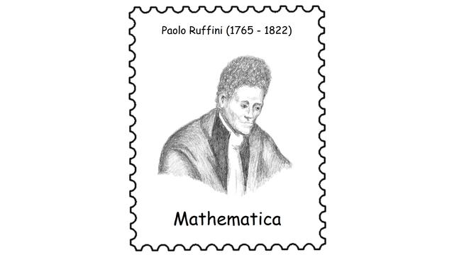 Paolo Ruffini (1765 – 1822)