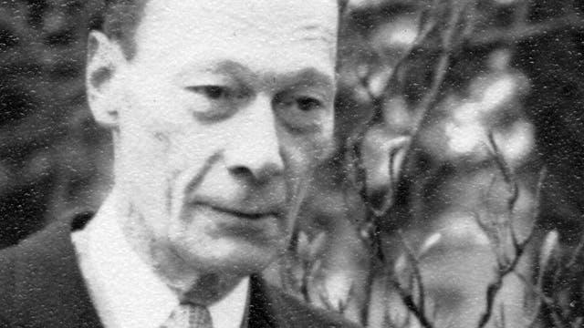 Wojciech Rychlewicz (1903–1964) auf einer Fotografie nach dem Zweiten Weltkrieg.