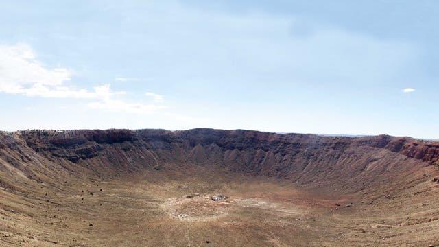 Barringer Crater in Arizona