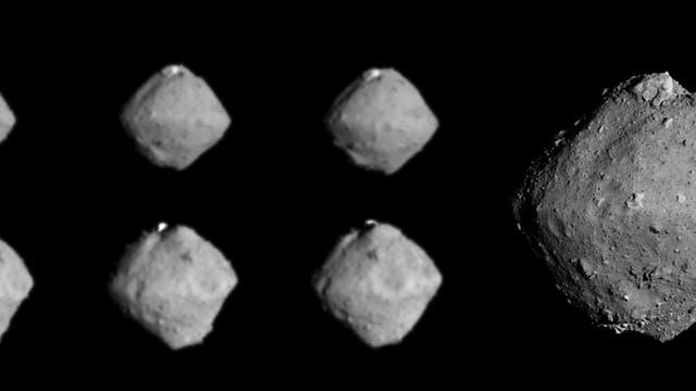 Raumsonde Hayabusa-2 fotografierte den Asteroiden Ryugu