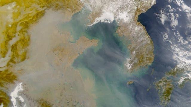 Smog über China
