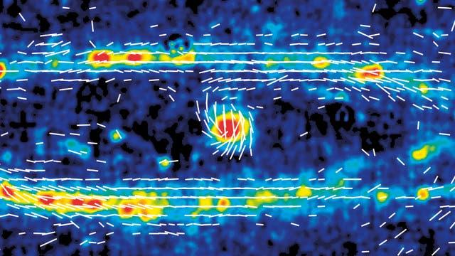 Radiokarte Andromedagalaxie