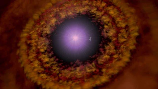 Protoplanetare Scheibe um TW Hydrae