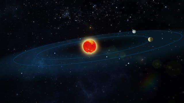 Planetenkandidaten um Teegardens Stern