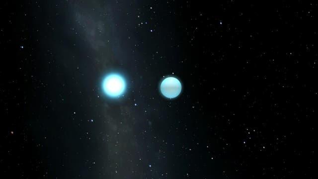 Pulsierender Weißer Zwerg in einem Doppelsternsystem